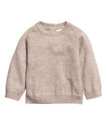 Cashmere Sweater | Light beige | KIDS | H&M US