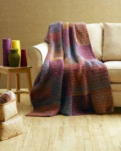 Crochet Squares Afghan