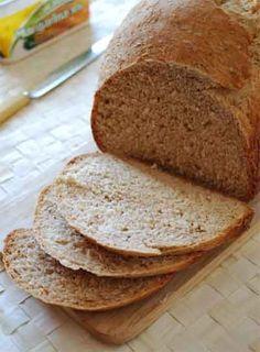 Pan integral de avena. Receta para panificadora Pan Bread, Bread Baking, Bread Machine Recipes, Bread Recipes, Food N, Food And Drink, Artisan Bread, Muffins, Sin Gluten