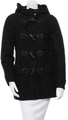 Gucci Suede Shearling Coat w/ Tags Shearling Coat, Winter Jackets, Gucci, Leather Jacket, Fur, Tags, Stylish, Women, Fashion