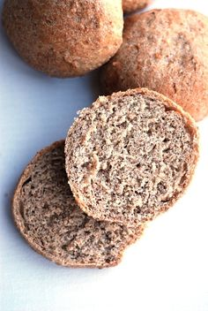 Bread Rolls, Truffles, Bread Recipes, Graham, Sandwiches, Muffin, Food And Drink, Low Carb, Healthy Recipes