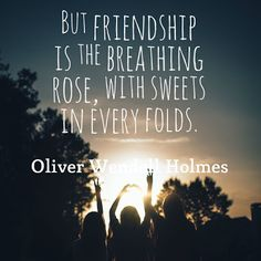 Quotes of the Day www.teelieturner.com Frienship is the breathing rose... #inspirationalquotes