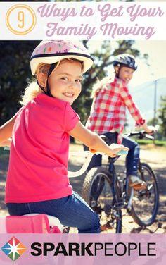 9 Fun Family Fitness Activities via Best Weight Loss, Weight Loss Tips, Fitness Activities, Family Activities, Spark People, Family Fitness, Exercise For Kids, Workout Challenge, Get In Shape