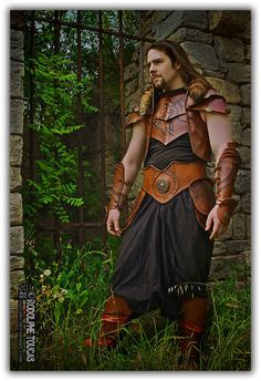 Leather Craft Amor Fantasy fan by SSXrodo