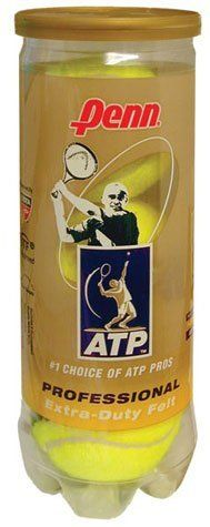 Penn ATP Extra Duty Tennis Balls (1 Dozen=4 Tubes of 3 Balls=12 Balls) [Misc.] by Penn. $22.95