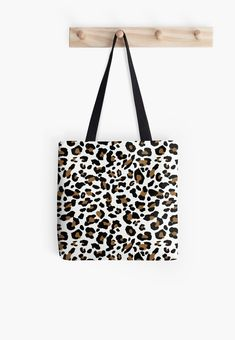 'Leopard spots, three color pattern' Tote Bag by cool-shirts Large Bags, Small Bags, Cotton Tote Bags, Drawstring Bags, Iphone Cases Cute, Leopard Spots, Tote Pattern, Samsung Galaxy Cases, Dresses With Leggings
