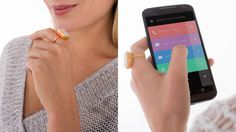 A ring that alerts you to important messages on your phone. The chicest thing in wearable tech.