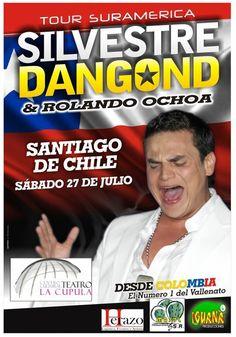 Silvestre Dangond + Rolando Ochoa - 27 de julio - Teatro La Cúpula