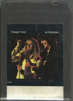 Cheap Trick At Budokan 8 track tape Untested - free returns 8 Track Tapes, Cheap Trick, Music Albums, Memories, Rock, Movie Posters, Memoirs, Souvenirs, Skirt