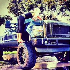 Lifted Truck with flatbed by ZonMatsukai on DeviantArt |Lifted Truck Poems