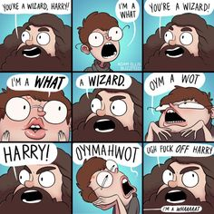 This closer examination of Harry and Hagrid's relationship.   15 Of The Funniest Harry Potter Comics Ever