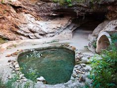 treatment baths from Roman times at Geoagiu Visit Romania, Romania Travel, Spring Nature, Real Estate Investor, Ancient Romans, Deities, Rum, Cool Pictures, Places To Go
