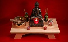 Buddhist shrine - Altar. $49.95, via Etsy.
