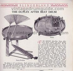Duplex 1928? After Beat, Pedal/Brush/Drum/Thingy