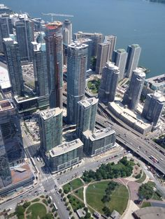 View from CN Tower!