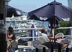 The Dockside waterfront restaurant in Hyannis. Best view of the Hyannis Harbor while you eat! 110 School St.