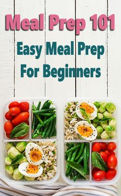 "If you are looking to save time, money, and stress at dinnertime, then you've got to learn how to meal prep. This Meal Prep 101: Easy Meal Prep For Beginners guide will show you everything you need to know including ideas to get started like health meal prep breakfast, lunch, and dinner recipes ideas that are easy to prep for the week or month so you never have to wonder ""what's for dinner"" again! Healthy Lunches For Work, Make Ahead Lunches, Healthy Snacks, Healthy Eating, Healthy Recipes, School Lunches, Ww Recipes, Make Ahead Healthy Meals, Clean Eating"