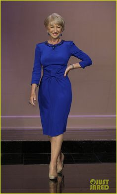 Helen Mirren: 'Red 2' Premiere & 'Jay Leno' Appearance! | Helen Mirren, Jay Leno, Taylor Hackford Photos | Just Jared