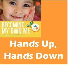 Song: Hands Up, Hands Down cute hands song for learning about the human body Lesson Plans For Toddlers, Body Parts, Human Body, Hands, Science, Kid, Let It Be, Teaching, How To Plan