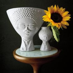 JONATHAN ADLER(ジョナサン・アドラー) 陶器 花瓶 Utopia Reversible Fro Bud 花瓶