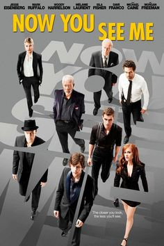 Now You See Me Is Half Crime Drama, Half Violent Fantasy Action Thriller, Making It A Perfect Suspenseful Action/Adventure for Friday Movie Night. Available on Redbox, Digital Download and Blu-Ray.