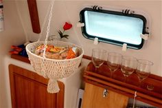Small Boat Projects - Making Life Aboard Easier: Repurposing in the galley
