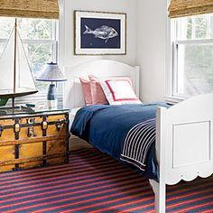 The New Classic Beach House | Simply Patriotic | CoastalLiving.com