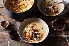 // One-Pot Butternut Squash Stew with Fresh Mozzarella recipe on Food52