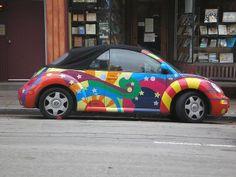 slug bug   slug bug   Flickr - Photo Sharing! Beetle Juice, Beetle Bug, Vw Super Beetle, Car Paint Jobs, Bug Car, Beetle Convertible, Mix Photo, Volkswagen Beetles, Vw Bugs