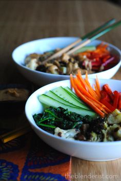 Dragon Bowls are healthy but delicious! The Blenderist | Dragon Bowls – Vegan and Gluten Free | http://theblenderist.com