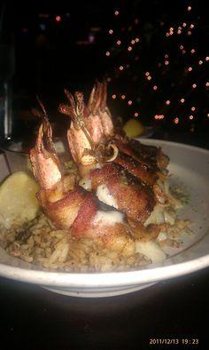 Bacon Wrapped Shrimps @ Papadeaux