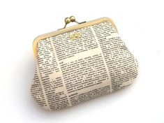OOOOOOO dictionary clutch. Can't decide whether this belongs on the Fashion board or here....maybe both.
