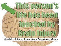 Brain injury...