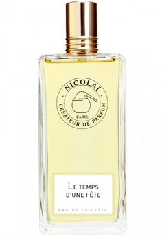 Le Temps d'une Fête Nicolai Parfumeur Createur for women (2007)...  Le Temps d'une Fête by Nicolai Parfumeur Createur is a Floral Green fragrance for women. The nose behind this fragrance is Patricia de Nicolai. Top notes are galbanum and opoponax; middle notes are narcissus and jasmine; base notes are oakmoss, sandalwood, patchouli and woody notes. Perfume rating: 4.26 out of 5 with 245 votes.