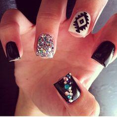 Super cute gel nails!