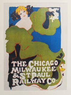 Ethel Reed, The Chicago, Milwaukee & St. Paul Railway Co., 1896