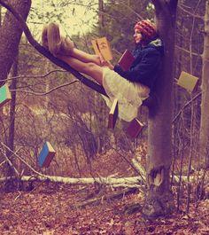 Überall sind Leseecken ;)
