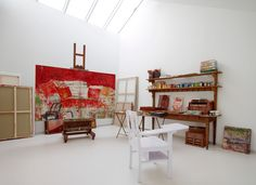 Countess Isabelle de Borchgrave & her studio were featured in the Nov/Dec/Jan '13 issue of Where Women Create