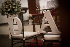 Letras en la decoración de tu matrimonio