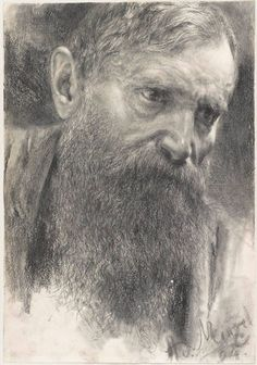 Drawing by Adolph Menzel
