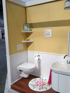 Instead Of Having Unsanitary Plastic Toilets Or Stools Laying Around, Why  Not Consider An In Wall Toilet System Thatu0027s Kid Friendly, Like This One  From