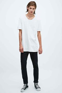 awesome t-shirt Cheap Monday Stockholm Tight Jeans in Black Cheap Shirts c37fe09e859b