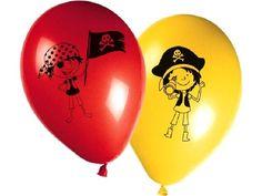 Luftballons * Kleine Piraten * 8 Stück