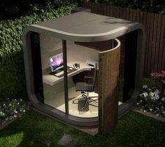 Office pod in the garden