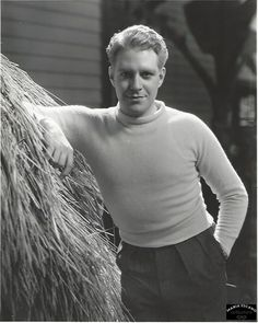 Original, double weight photo of Nelson Eddy by MGM famous photographer Ted Allen - ESCANO COLLECTION