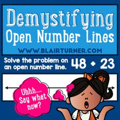 demystifying open number lines