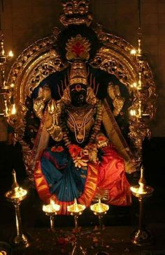 Ammavaru Padmavathi – Jewerly World Durga Images, Lakshmi Images, Kali Hindu, Hindu Art, Durga Kali, Saraswati Goddess, Shiva Shakti, Kali Mata, Lord Ganesha Paintings