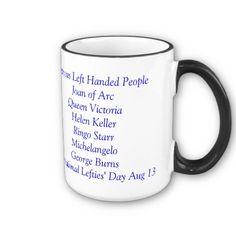Lefties Only Double Sided Mug @Amanda Borton We're in good company!