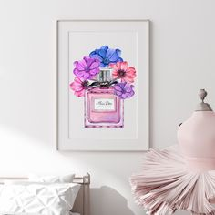 Excited to share the latest addition to my #etsy shop: Dior Perfume Print Instant Download, Dior Print, Vogue Art Print, Watercolor Fashion Illustration Printable, Girly Wall Art, Floral Wall Art Dior Perfume, Watercolor Fashion, Floral Wall Art, Girly, Art Prints, Women's, Art Impressions, Girly Girl, Art Print