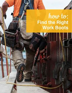 How to find the right Work Boots. Shop our full collection of Work Boots at ShoeBuy!